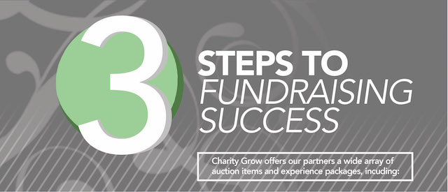 3 Steps to Fundraising Success with Charity Grow