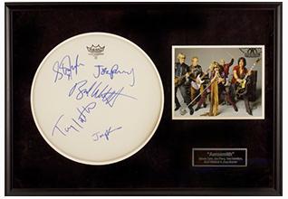 Aerosmith Drumhead_Fundraising Items