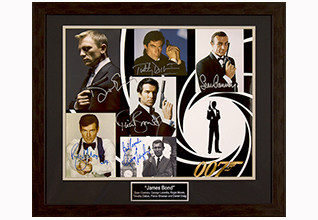 James Bond by 6 16x20 Photo_Fundraising Items