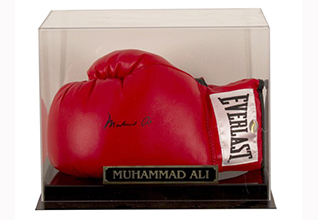 Muhammad Ali Boxing Glove_Fundraising Items