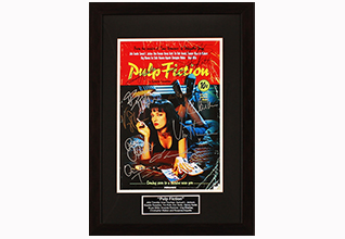 Pulp Fiction Cast by 12 Movie Poster_Fundraising Items