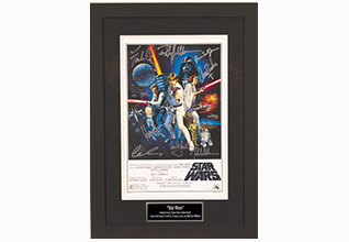 Star Wars Cast by 8 Movie Poster_Fundraising Items
